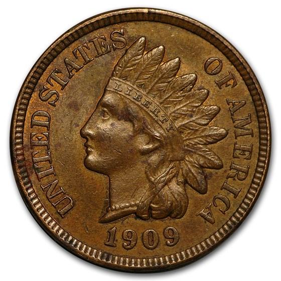 1909 Indian Head Cent BU