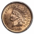 1909 Indian Head Cent MS-64 PCGS (Red)
