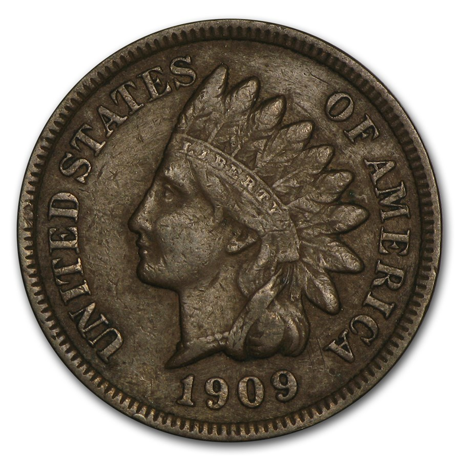 1909 Indian Head Cent VF