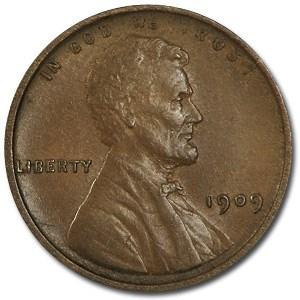 1909 Lincoln Cent BU