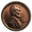 1909 Lincoln Cent PR-64 PCGS (Red/Brown)