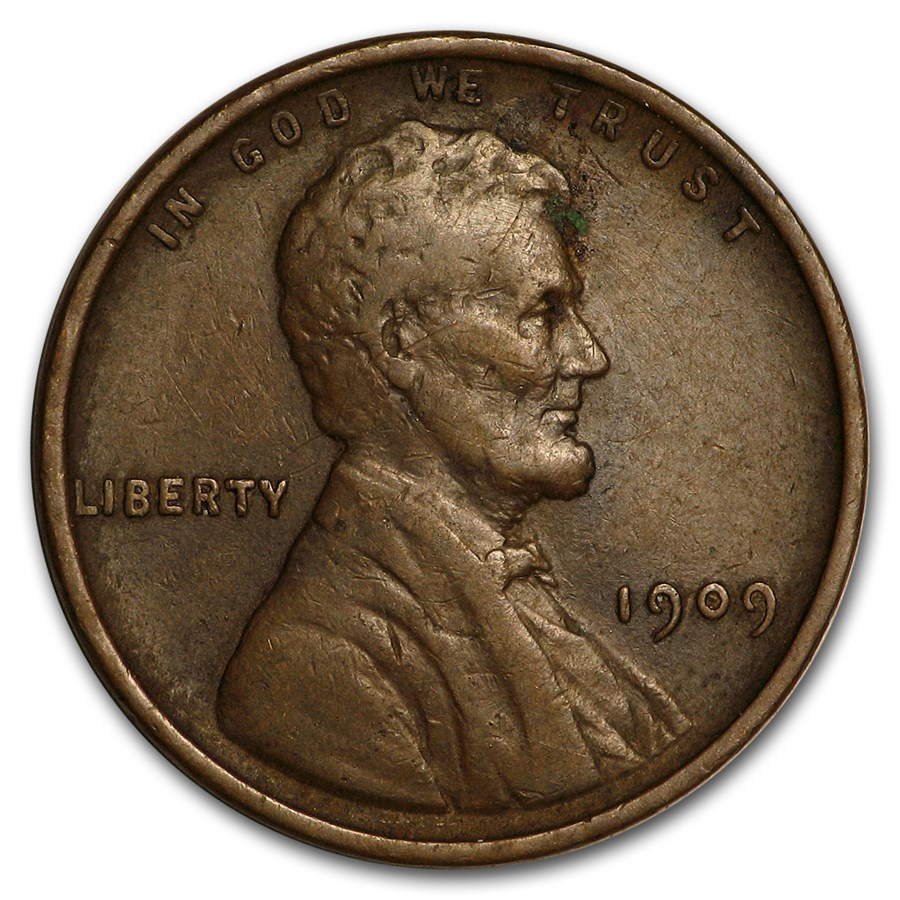 1909 Lincoln Cent XF