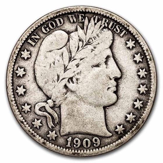 1909-O Barber Half Dollar Fine