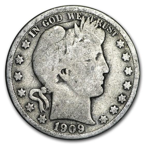 1909-O Barber Half Dollar Good