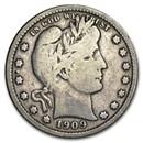 1909-S Barber Quarter Fine