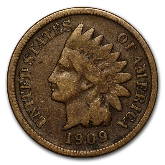 1909-S Indian Head Cent Fine