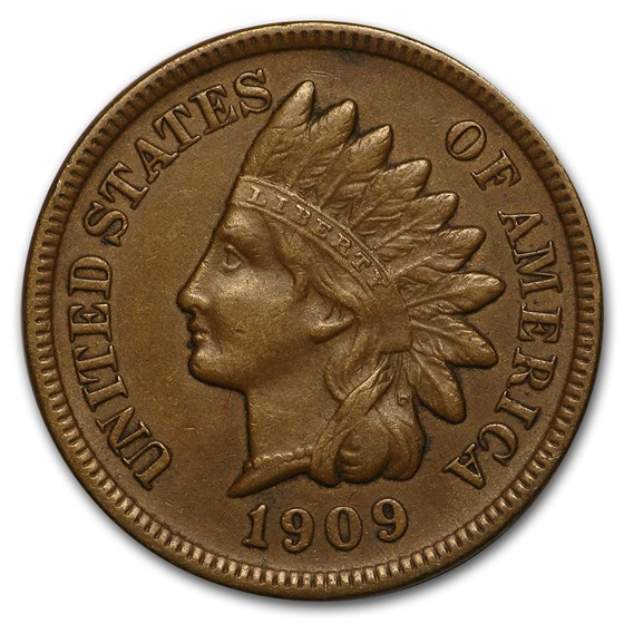 1909-S Indian Head Cent XF