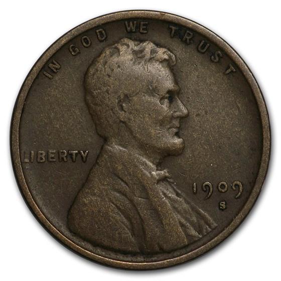 1909-S Lincoln Cent Fine