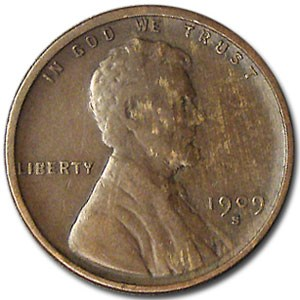1909-S Lincoln Cent XF