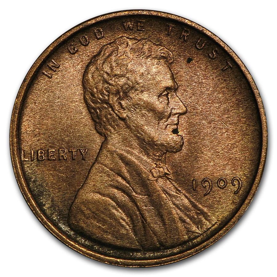 1909 VDB Lincoln Cent BU