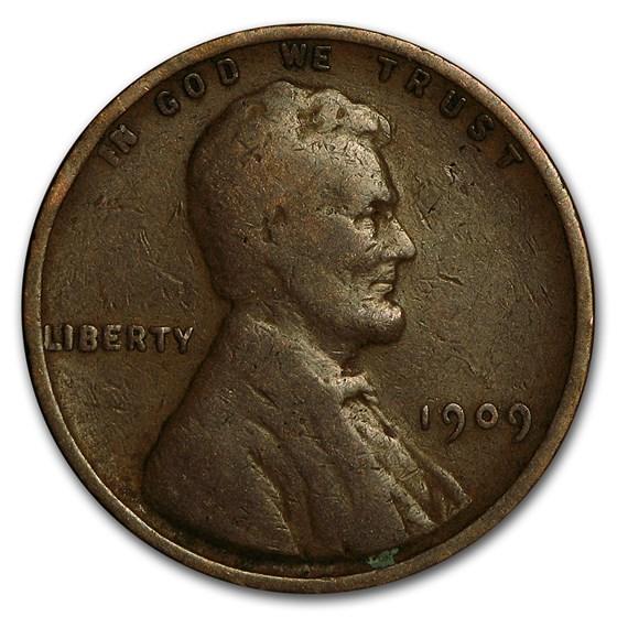 1909 VDB Lincoln Cent Good/VF