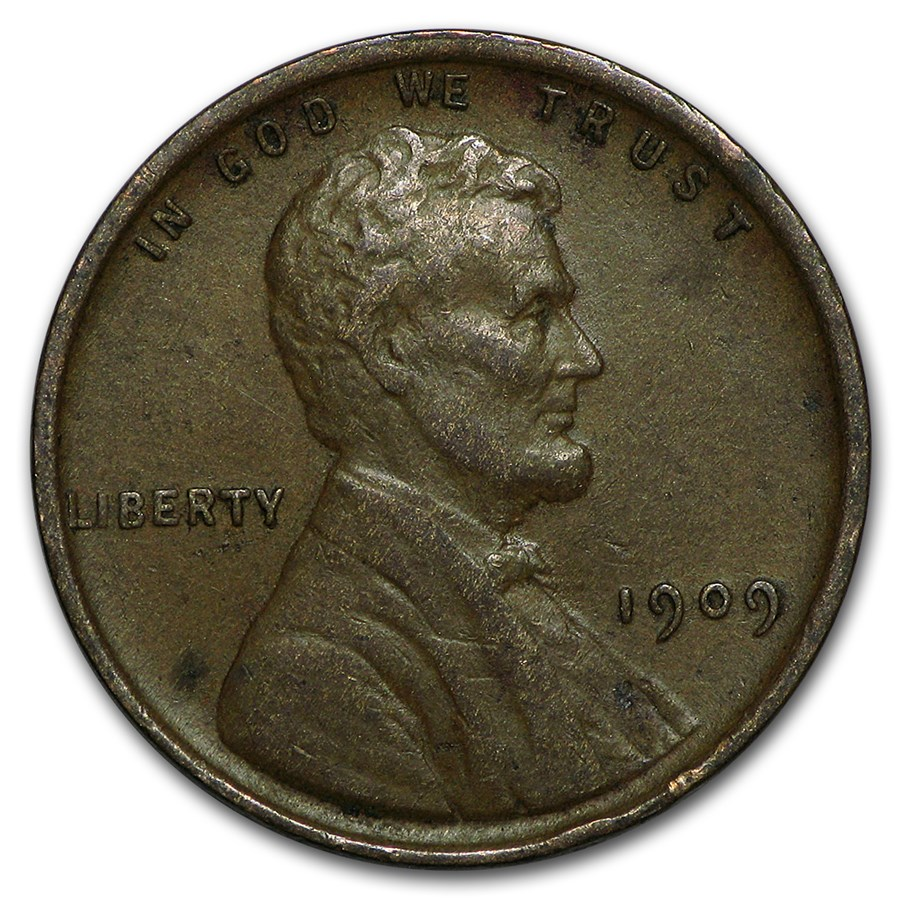 1909 VDB Lincoln Cent XF