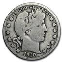 1910 Barber Half Dollar VG