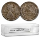 1910 Lincoln Cent 50-Coin Roll Avg Circ