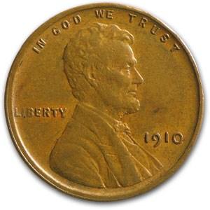 1910 Lincoln Cent AU