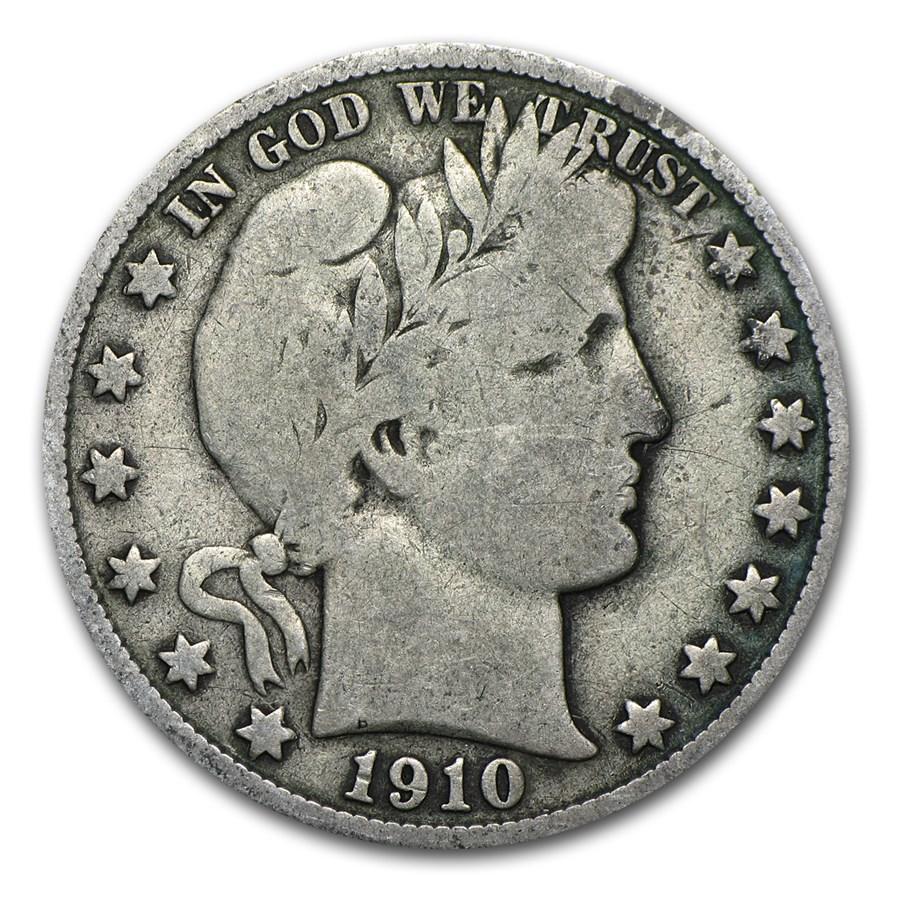 1910-S Barber Half Dollar Fine