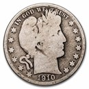 1910-S Barber Half Dollar Good