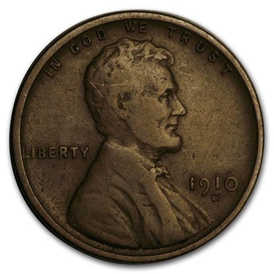 1910-S Lincoln Cent Fine