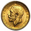 1911-1928-S Australia Gold Sovereign George V BU