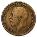 1911-1936 Great Britain George V Large Penny Cull (Random)