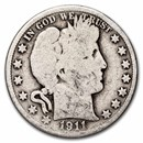 1911 Barber Half Dollar Good