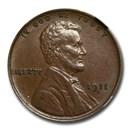 1911-D Lincoln Cent AU-58 NGC