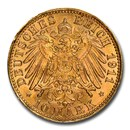 1911 Germany Gold 10 Mark MS-68 NGC