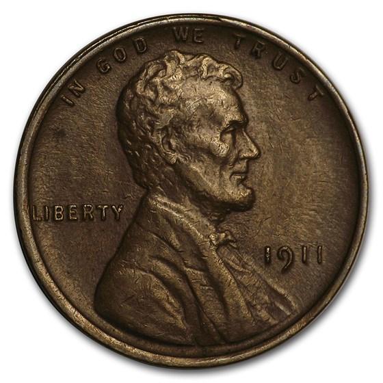 1911 Lincoln Cent AU