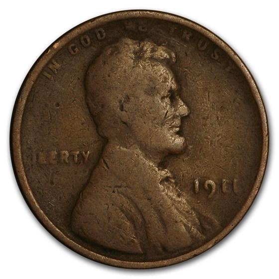 1911 Lincoln Cent Good/Fine