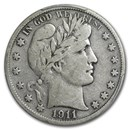 1911-S Barber Half Dollar Fine