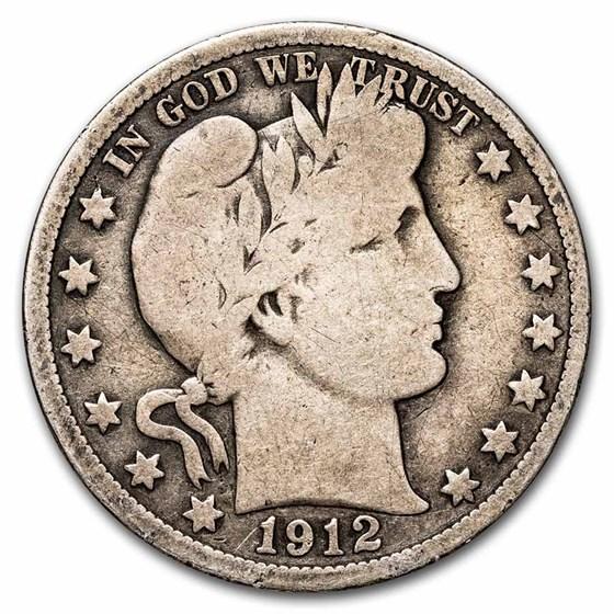 1912 Barber Half Dollar Good
