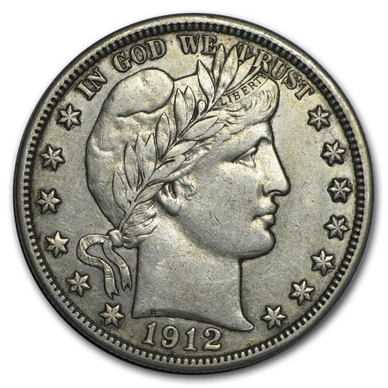 1912 Barber Half Dollar XF