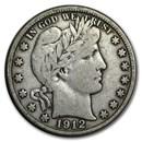 1912-D Barber Half Dollar Fine
