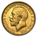 1912 Great Britain Gold Sovereign George V BU