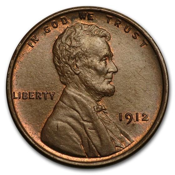 1912 Lincoln Cent AU
