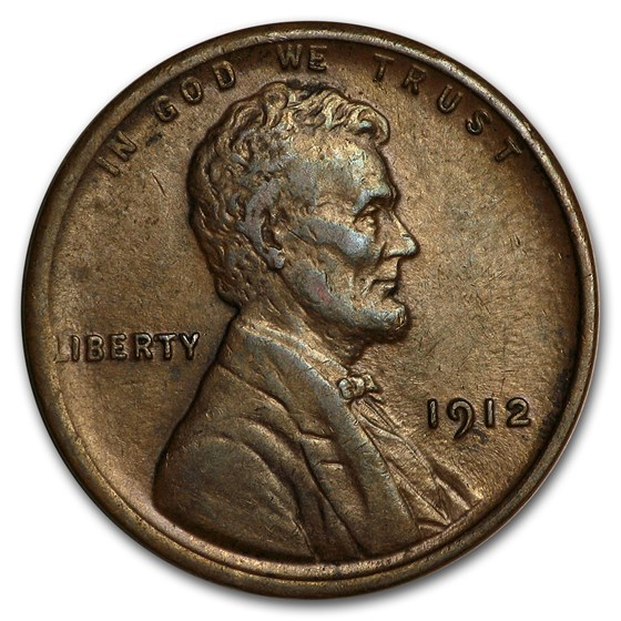 1912 Lincoln Cent XF