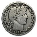 1912-S Barber Half Dollar Fine