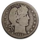 1912-S Barber Quarter AG