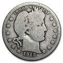 1912-S Barber Quarter Good