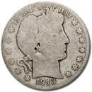 1913 Barber Half Dollar AG