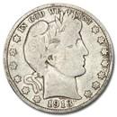 1913 Barber Half Dollar VG (Details)