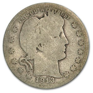 1913 Barber Quarter AG