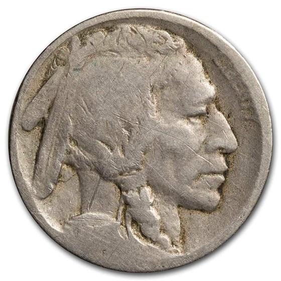 1913-D Type-II Buffalo Nickel AG (Partial Date)