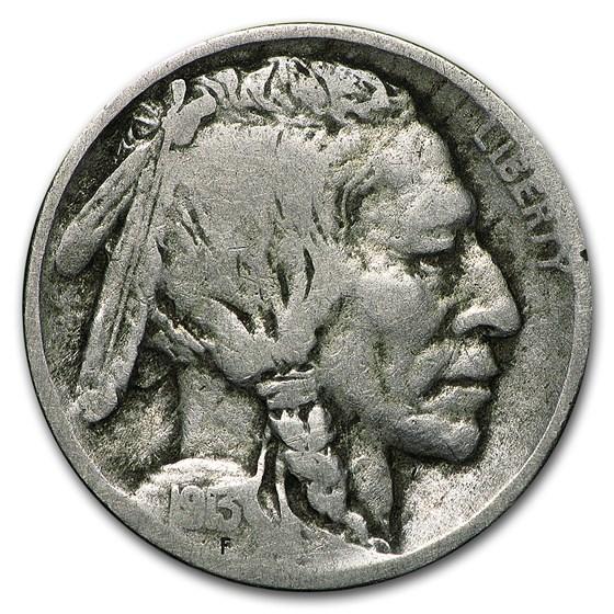 1913-D Type-II Buffalo Nickel Good