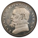 1913 Germany Silvered-Bronze 5 Marks Ludwig III PR-63 PCGS