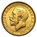 1913 Great Britain Gold Sovereign George V BU