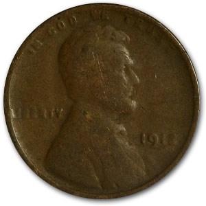 1913 Lincoln Cent Good/Fine