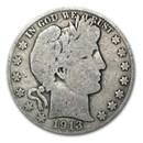 1913-S Barber Half Dollar Good