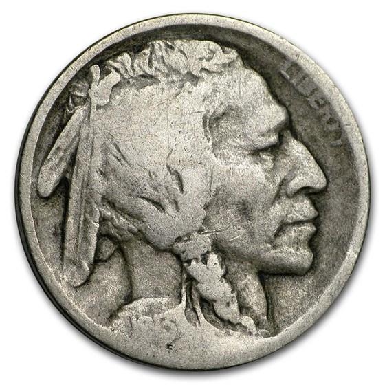 1913-S Type-I Buffalo Nickel Good