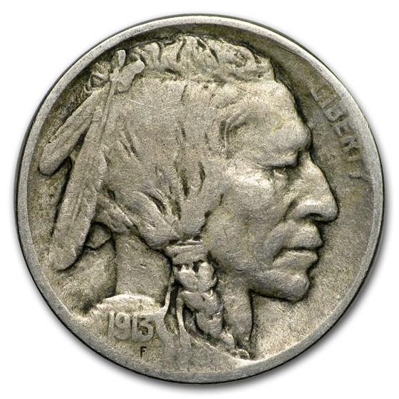 1913 Type-I Buffalo Nickel Fine